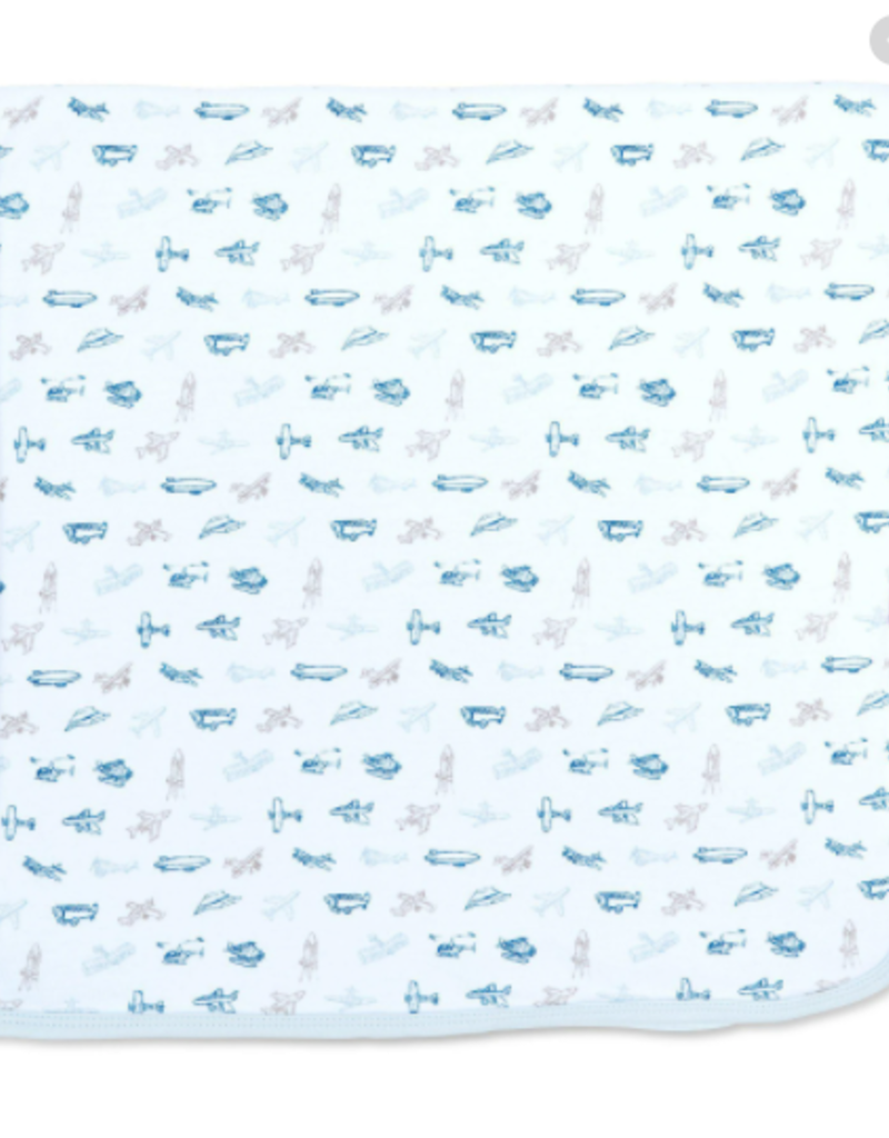 Magnetic Me Airplanes Organic Cotton Swaddle