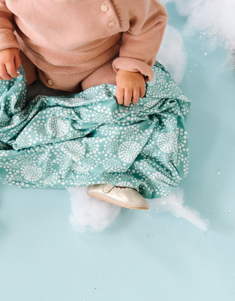 Copper Pearl Knit Blanket Jane