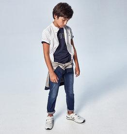 Mayoral Basic Regular Fit Jeans Dark