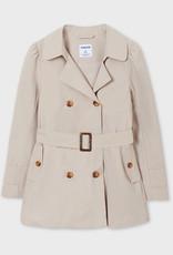 Mayoral Trench Coat Tan