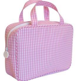 TRVL Design Carry On Gingham Pink