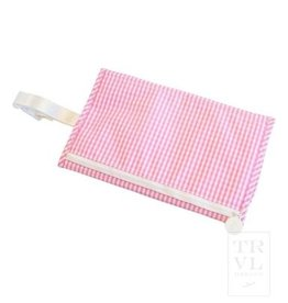 TRVL Design Game Changer Pad Gingham Pink