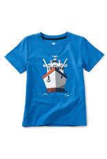 Tea Collection Boat Afloat Graphic Tee