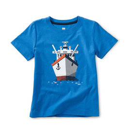 Tea Collection Boat Afloat Graphic Tee 2T-12