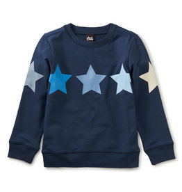 Tea Collection All Star Tunic Top Whale Blue 4T-14