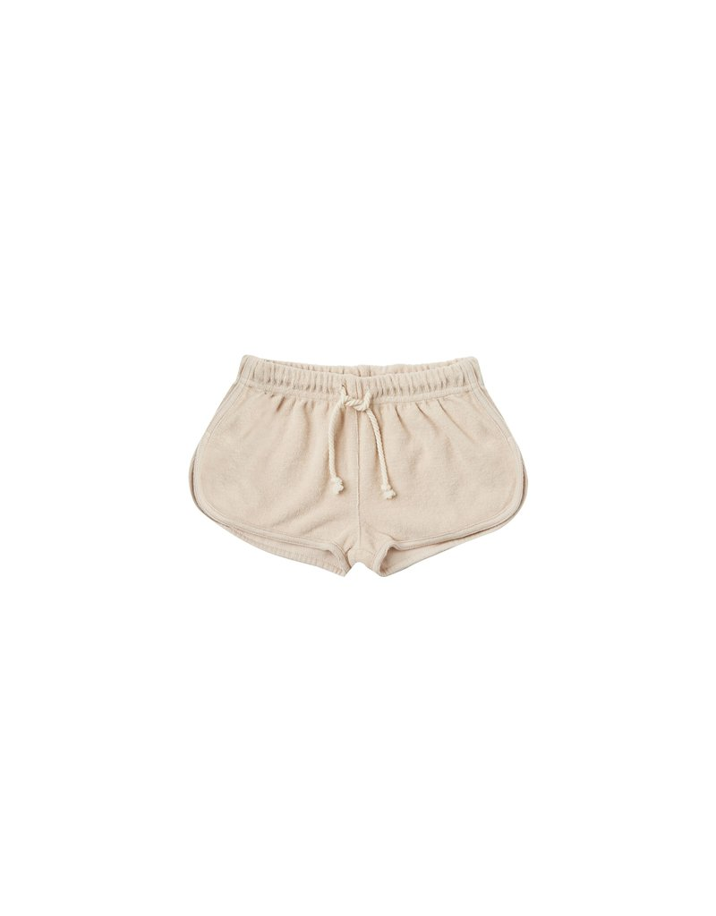 Rylee & Cru Terry Track Shorts Shell