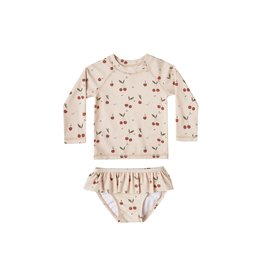 Rylee & Cru Cherries Rashguard Set 3/6M-8/9