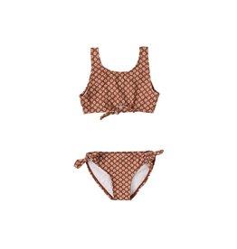 Rylee & Cru Flower Power Knotted Bikini 8/9-12/14