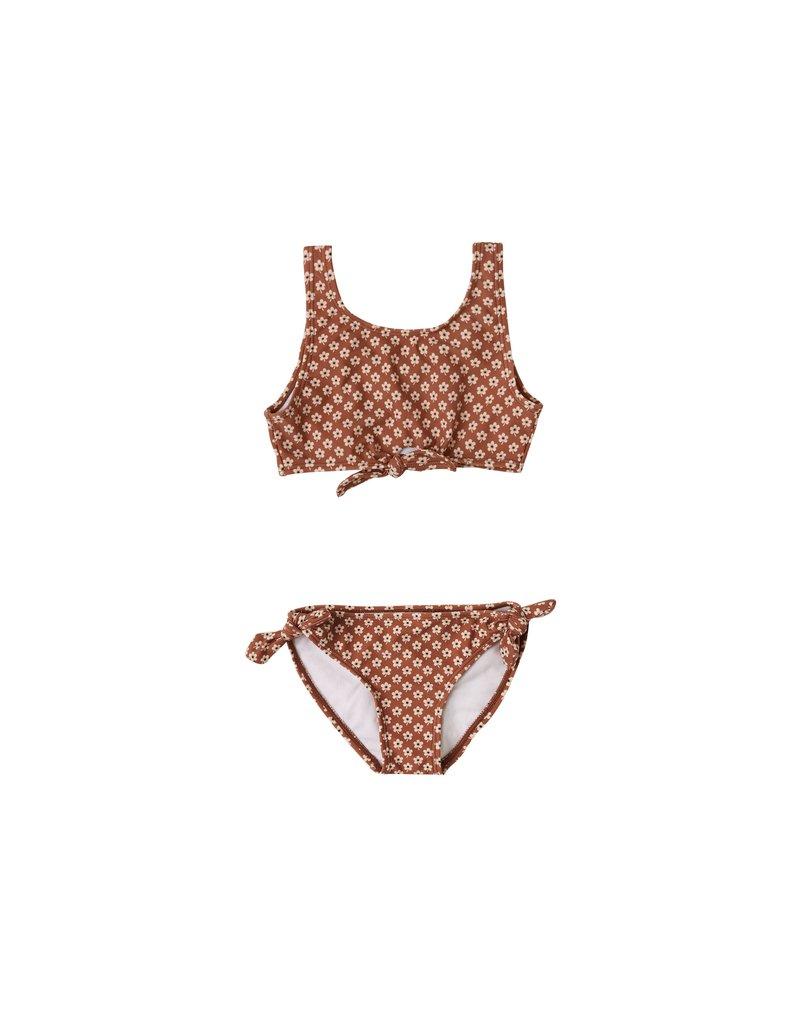 Rylee & Cru Flower Power Knotted Bikini