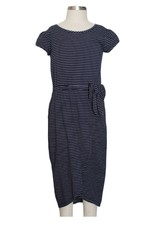 Mabel and Honey Knit Blue Midi Dress