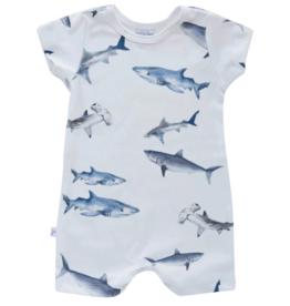 Jennifer Ann Sharks Organic Romper