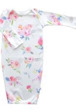 Jennifer Ann Blooming Garden Organic Gown 0/3M