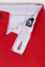 Mayoral Twill Chino Shorts Red
