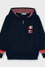 Mayoral Hoodie Zip up Sweatshirt Navy