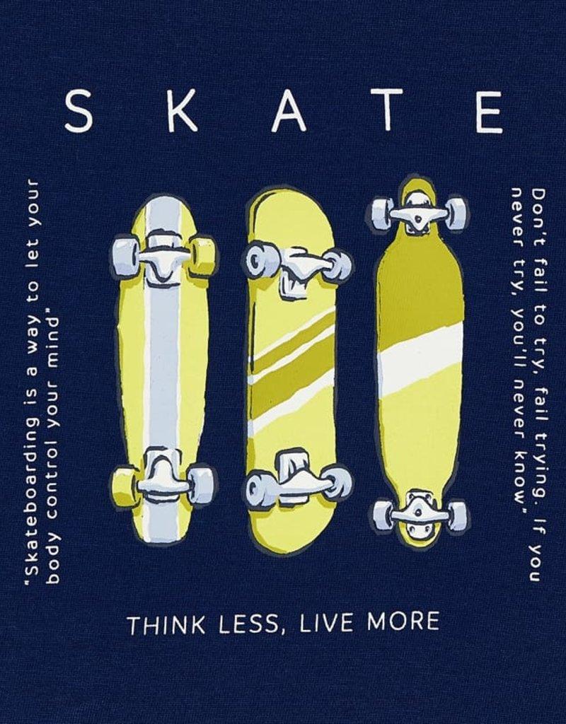 Mayoral S/S 2 pc T Shirt Set Skateboard