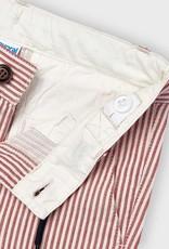 Mayoral Red Striped Bermuda Shorts