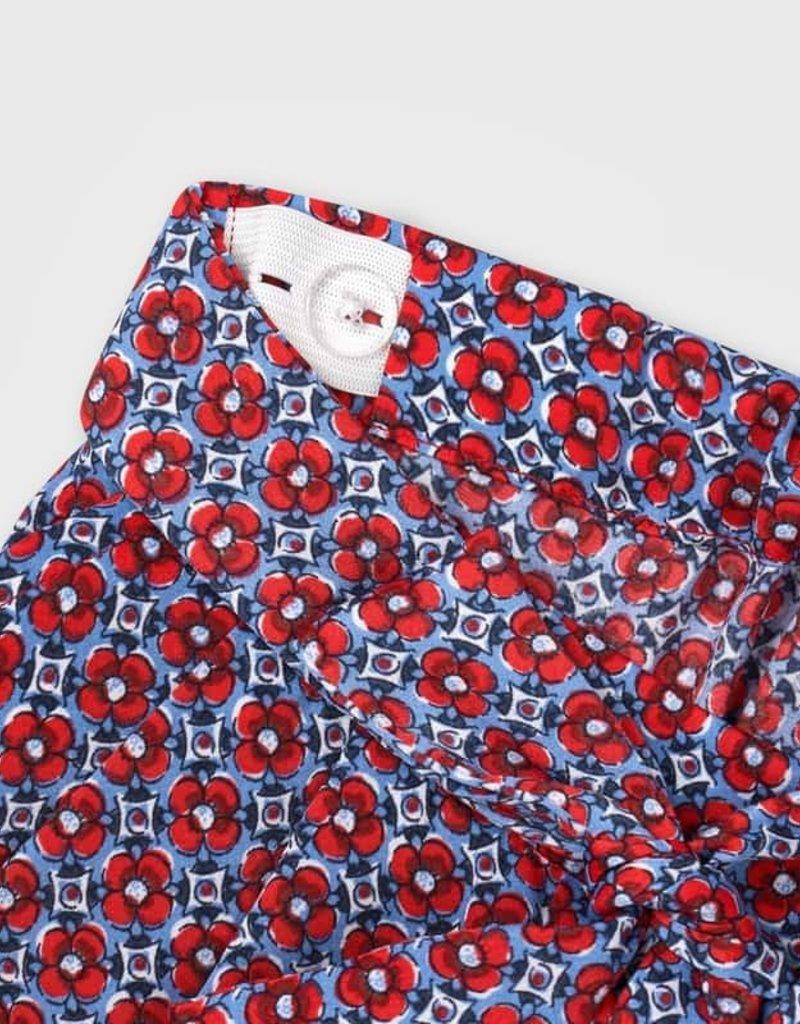 Mayoral Loose Printed Pants Poppy