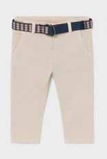 Mayoral Pique Pants w/belt Canvas