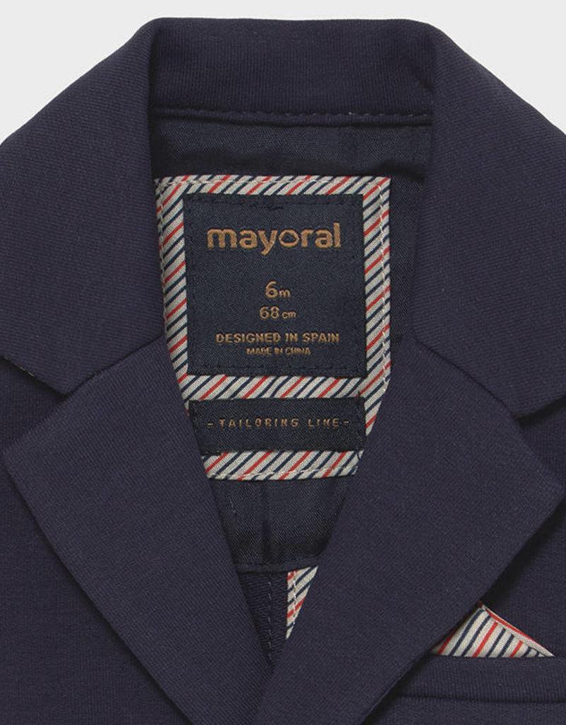 Mayoral Knit Navy Blazer
