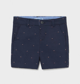 Mayoral Jacquard Print Shorts Nautical