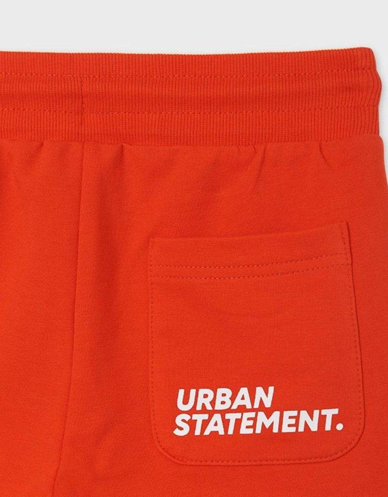 Mayoral Fleece Shorts Hibiscus