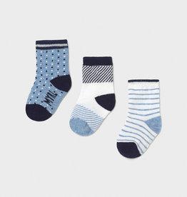 Mayoral Socks Set of 3 Air NB, 18M
