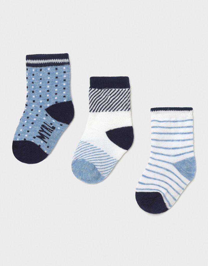 Mayoral Socks Set of 3 Air