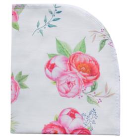 Jennifer Ann Peony Organic Blanket