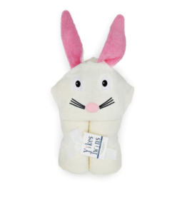 Yikes Twins Bunny Hooded Towel