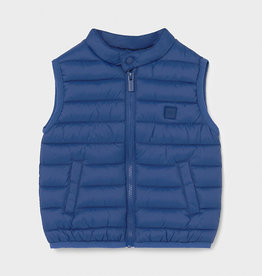 Mayoral Padded Vest Blue 12M-36M