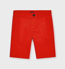Mayoral Basic Chino Shorts Hibiscus 8-14