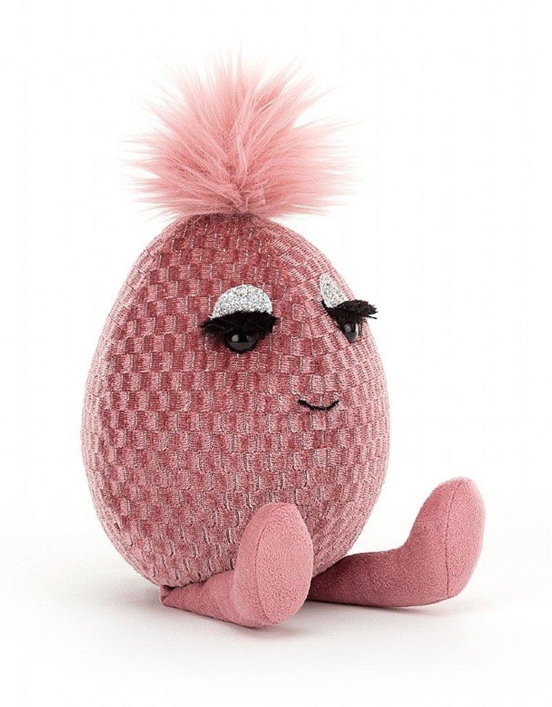 Jellycat Fabbyegg Pink Topaz