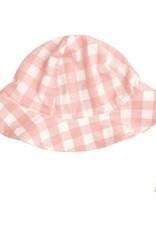 Angel Dear Gingham Pink Sunhat