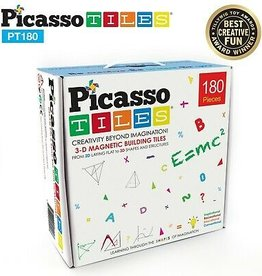 Picasso Tiles Picasso Tiles 180 Pc Deluxe Combo Toy Set