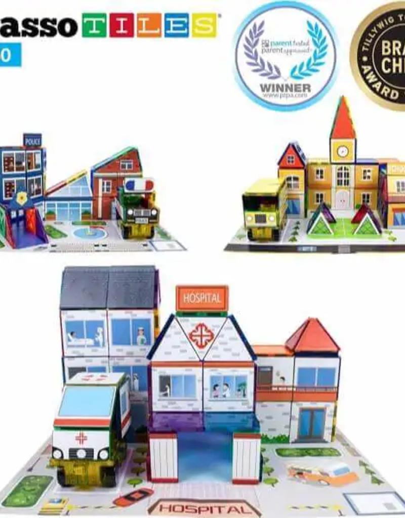 Picasso Tiles Picasso Tiles 150 Pc School Theme Set