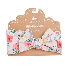 Angel Dear Summer Floral Pink Headband 0/12M, 12/24M