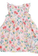 Angel Dear Summer Floral Pink Dress