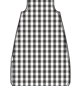 Angel Dear Sleeping Blanket Black Gingham