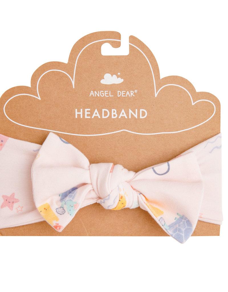 Angel Dear Sandcastle Pink Headband