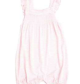 Angel Dear Puppy Play Smocked Overall Shorties  0/3M-18/24M