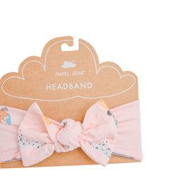 Angel Dear Puppy Play Pink Headband 0/12M, 12/24M