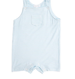 Angel Dear Puppy Play Blue Overall Shortie