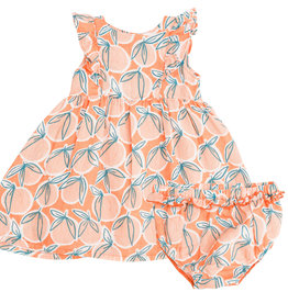 Angel Dear Peachy Dress Set 6/12M-4T