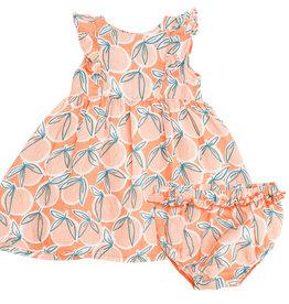 Angel Dear Peachy Dress Set