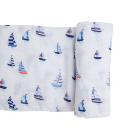 Angel Dear Nautical Boats Swaddle