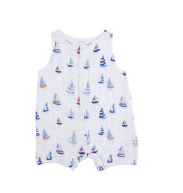 Angel Dear Nautical Boats Henley Shortall 3/6M-18/24M