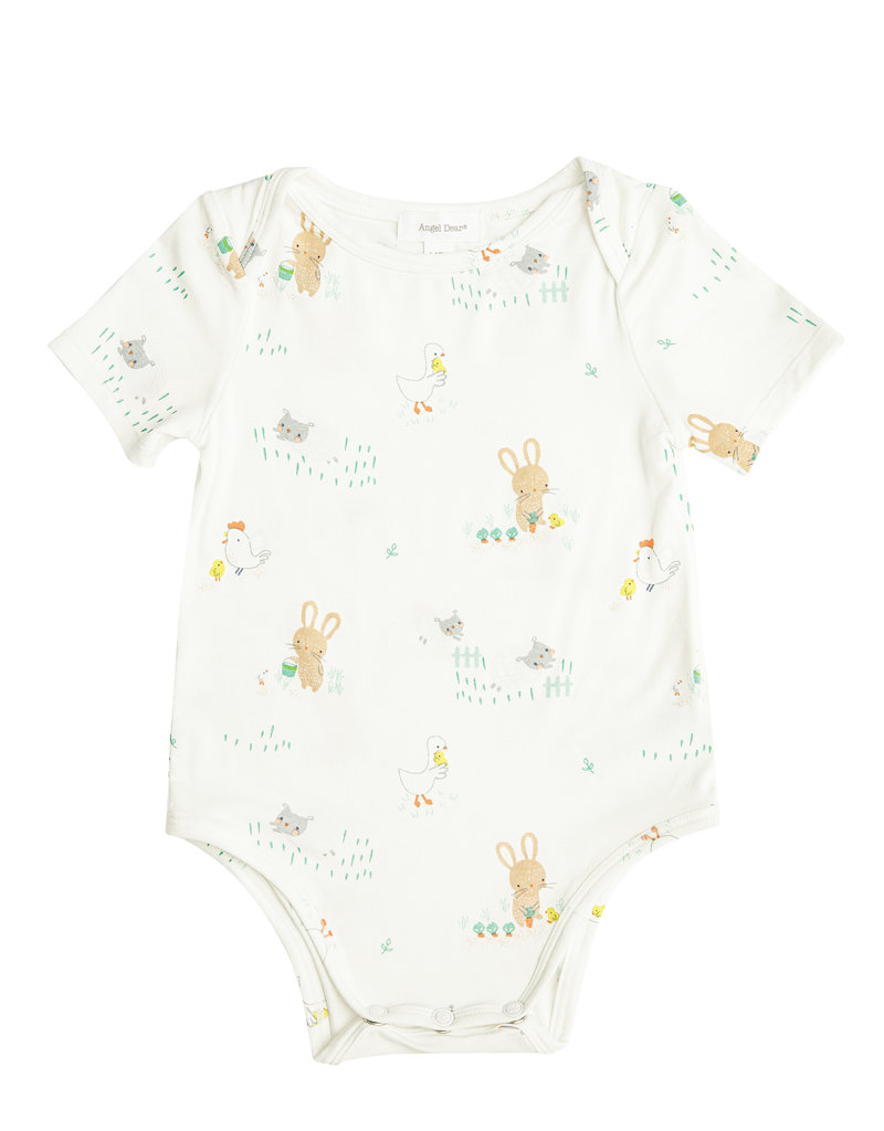Angel Dear Little Farmer Boy Bodysuit