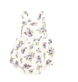 Angel Dear Lily of the Valley Ruffle Bib Bubble 0/3M-18/24M