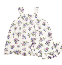 Angel Dear Lily of the Valley Pinafore Top Set