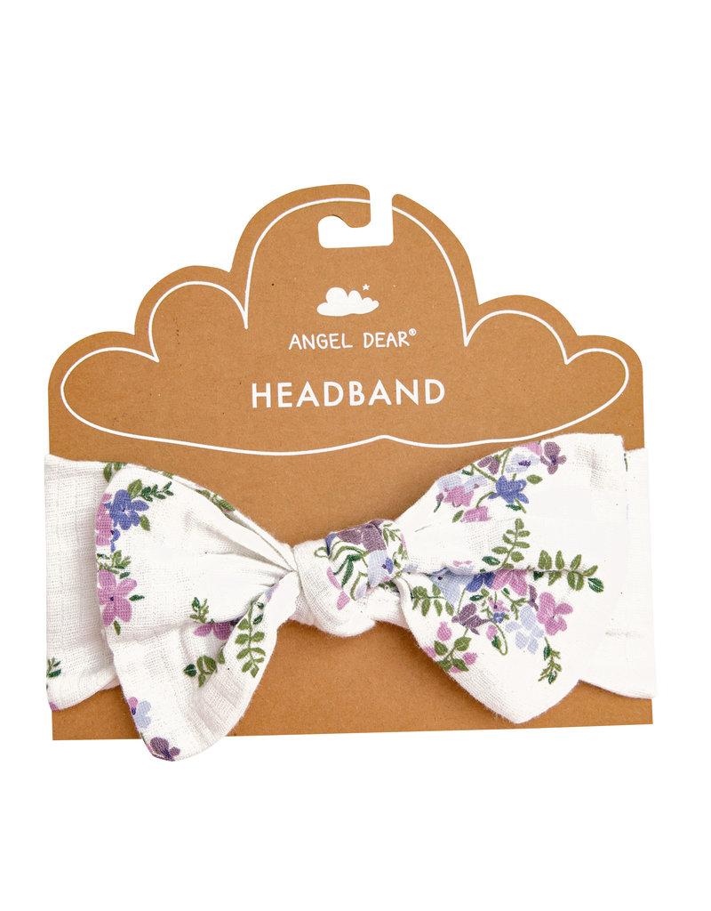Angel Dear Lily of the Valley Purple Headband